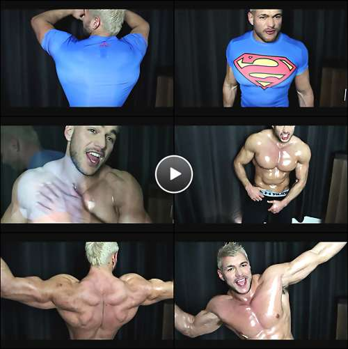 superman gay cartoon video